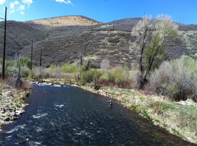 Ryan's trip to Provo River, Utah