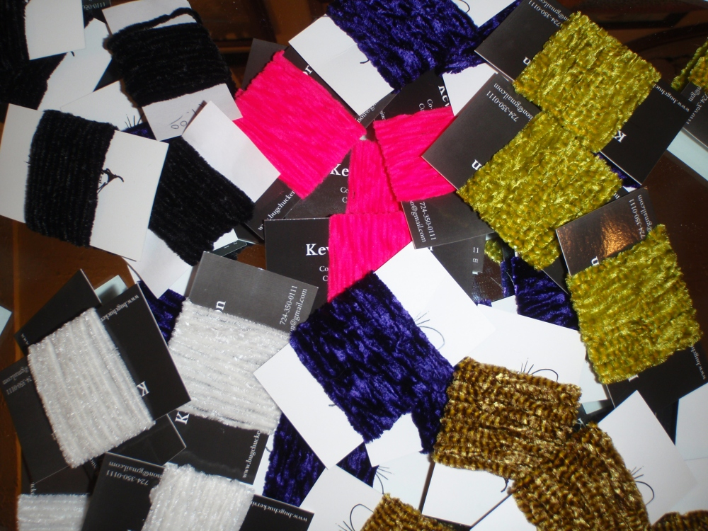 Great color options for variegated chenille